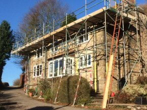 Courtenay Road, Okehampton - Roof works and temporay roof works (3 photos)